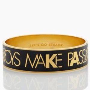 Kate Spade Boys Make Passes Bangle Bracelet